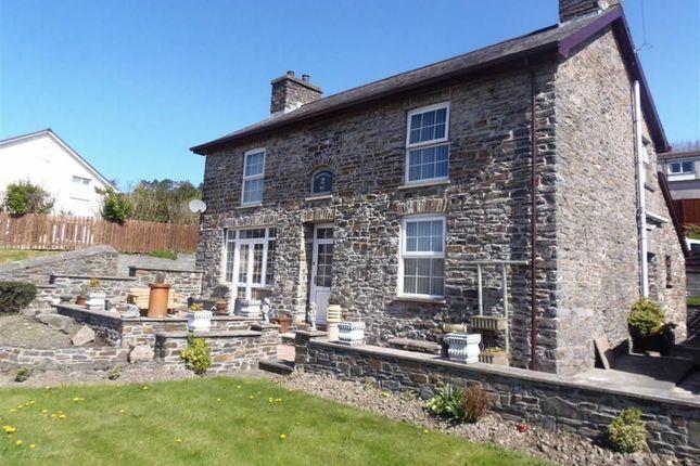 Thumbnail Detached house for sale in Fronheulog, Pwllhobi, Llanbadarn, Aberystwyth, Ceredigion