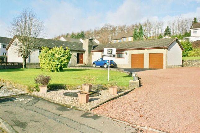 Thumbnail Detached house for sale in Dickburn Crescent, Bonnybridge, Stirlingshire