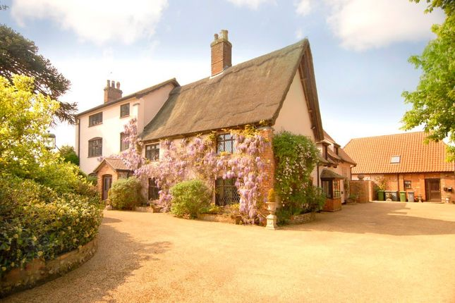 Thumbnail Detached house for sale in School Road, Lingwood, Norwich