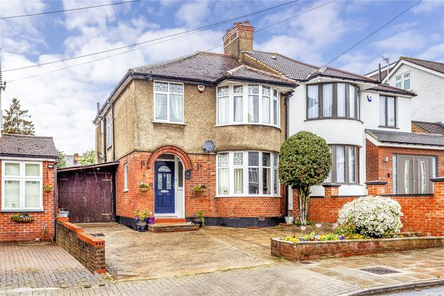 3 bed semi-detached house for sale in Drummond Drive, Stanmore HA7