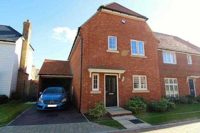 Thumbnail Detached house for sale in Goldfinch Drive, Ashford