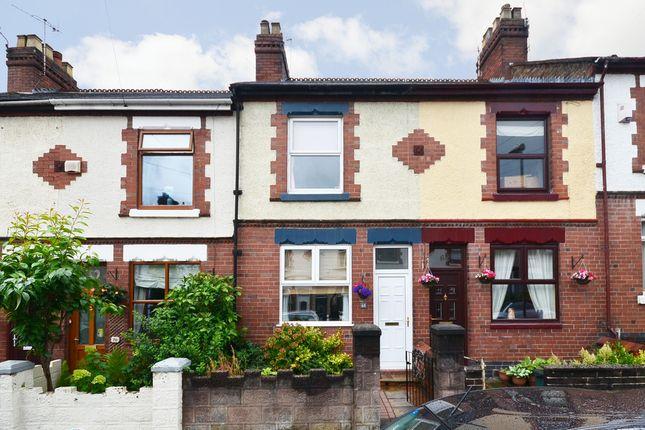 2 bed terraced house for sale in Grosvenor Avenue, Oakhill, Stoke-On-Trent