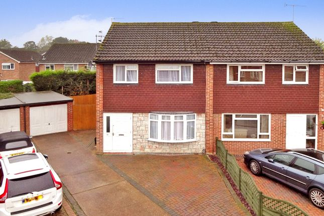 Thumbnail Semi-detached house to rent in Todds Close, Horley