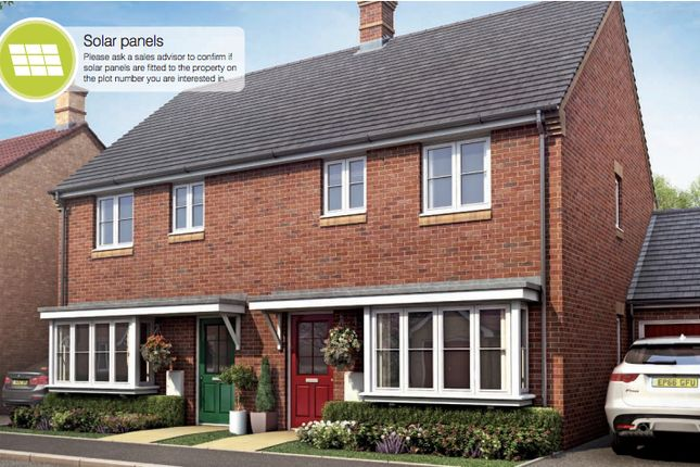 Thumbnail Semi-detached house for sale in Whitecross, Coates Road, Eastrea, Whittlesey, Peterborough