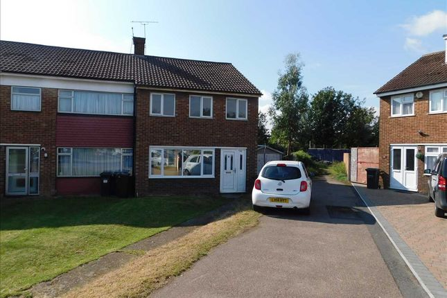 Thumbnail End terrace house to rent in Beaumont Drive, Northfleet, Gravesend
