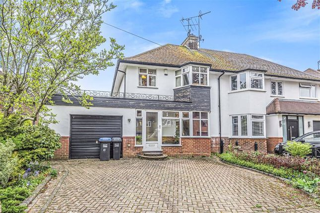 3 bed semi-detached house for sale in Peplins Way, Brookmans Park, Hertfordshire AL9