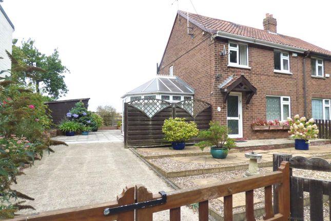 Thumbnail Semi-detached house to rent in Chapel Garth, Arram, Beverley