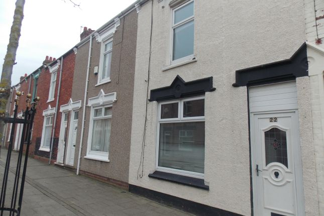 Thumbnail Terraced house to rent in St. Oswalds Street, Hartlepool