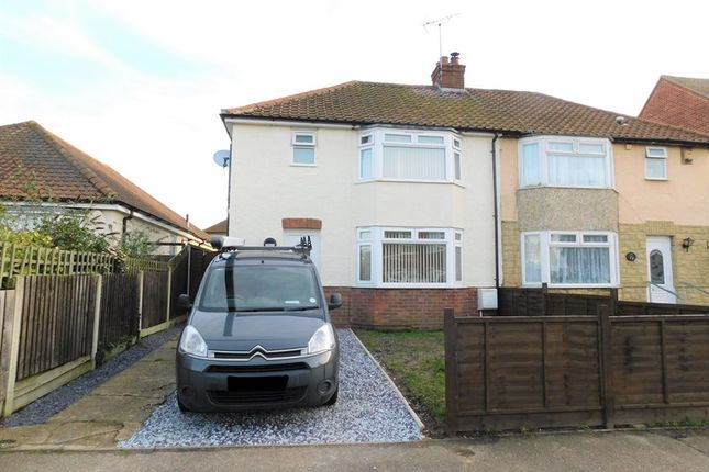 Thumbnail Semi-detached house for sale in Valley Road, Dovercourt, Harwich