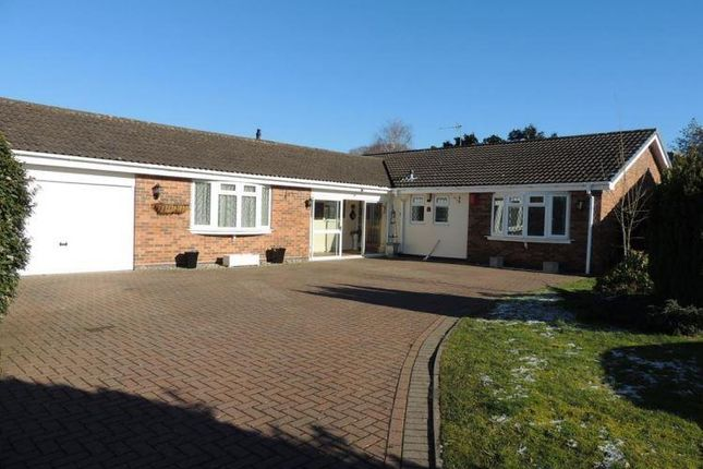 Thumbnail Detached bungalow for sale in Liveridge Close, Knowle, Solihull