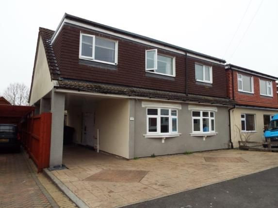 Thumbnail Semi-detached house for sale in Bibury Avenue, Patchway, Bristol, Gloucestershire