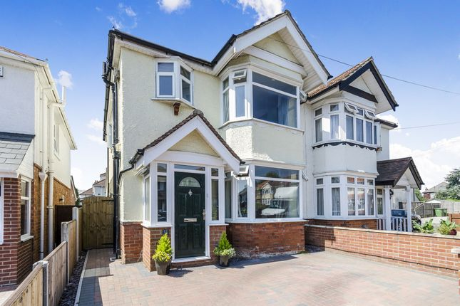 Thumbnail Semi-detached house for sale in Treeside Road, Shirley, Southampton