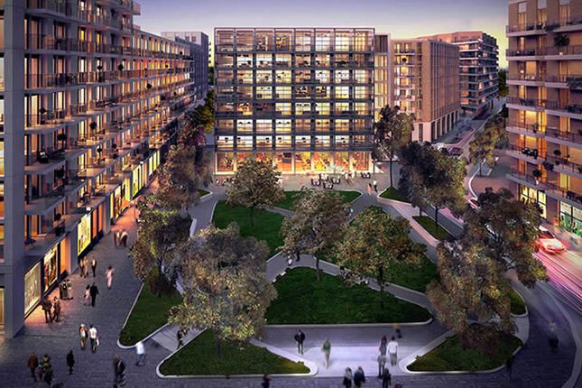 Flat for sale in Park View Place, Royal Wharf, London
