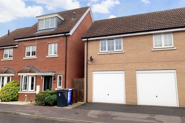 Thumbnail Semi-detached house to rent in Jasmine Road, Red Lodge, Bury St. Edmunds