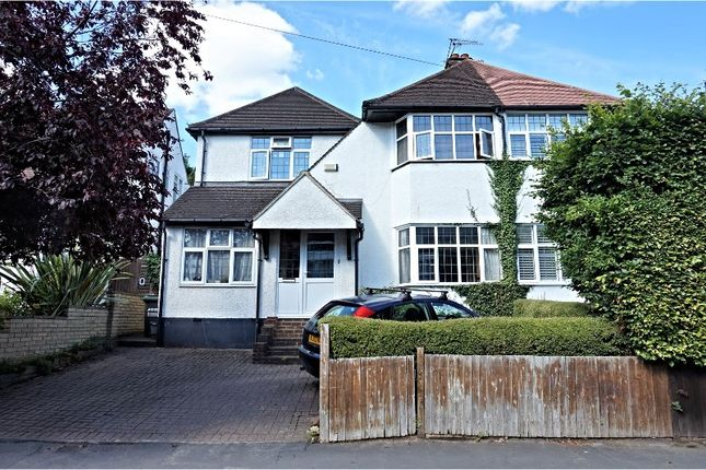 Thumbnail Semi-detached house for sale in Whitelands Avenue, Rickmansworth