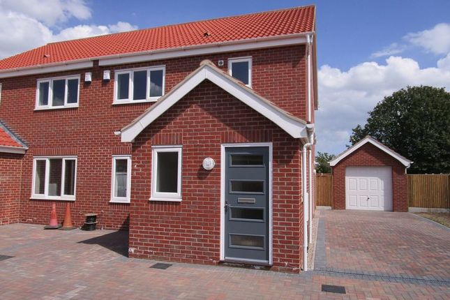 Thumbnail Semi-detached house to rent in Kings Drive, Bradwell, Great Yarmouth