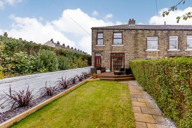 Thumbnail End terrace house for sale in Fern Lea, Sowerby Bridge