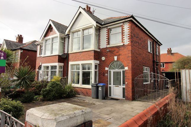 Thumbnail Terraced house to rent in Warley Road, Blackpool