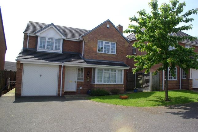 Thumbnail Detached house to rent in Hawthorn Close, Measham, Swadlincote