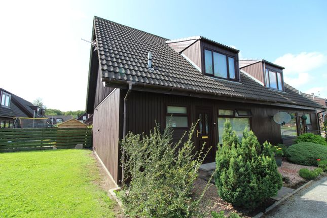 Thumbnail Semi-detached house for sale in Kembhill Park, Kemnay, Inverurie