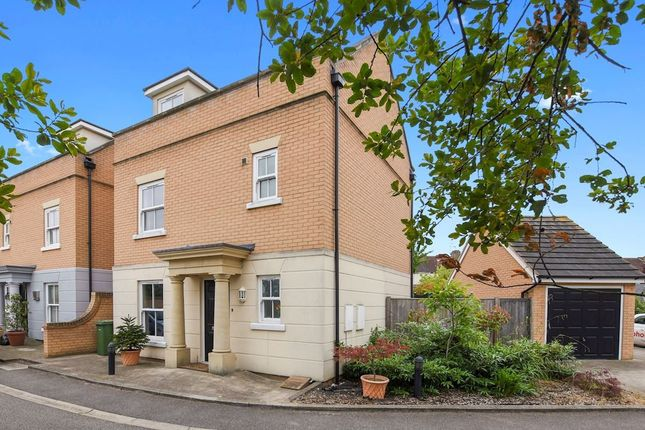 Thumbnail Detached house for sale in Wood View Mews, Rise Park, Romford