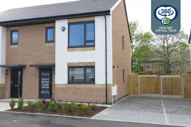 Thumbnail Semi-detached house for sale in The Elms, Holloway Field, Coundon, Coventry