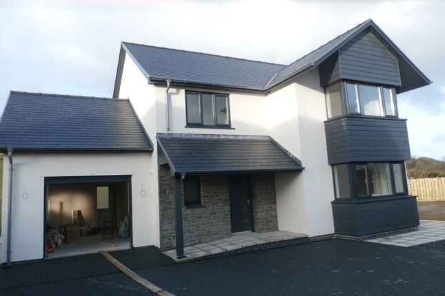 Thumbnail Detached house for sale in At Cefn Ceiro, Llandre, Bow Street, Aberystwyth