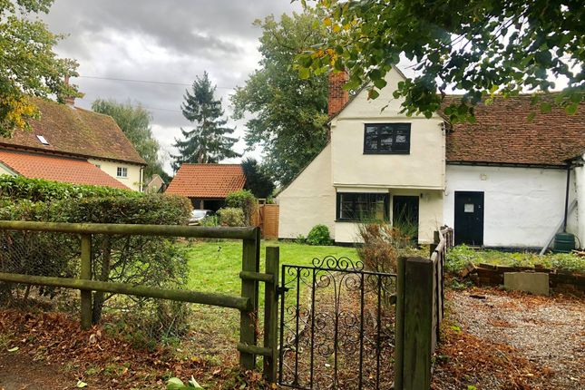 Thumbnail End terrace house for sale in Church Road, Gosfield, Halstead