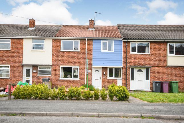 3 bed terraced house for sale in The Croft, South Normanton, Alfreton, Derbyshire DE55
