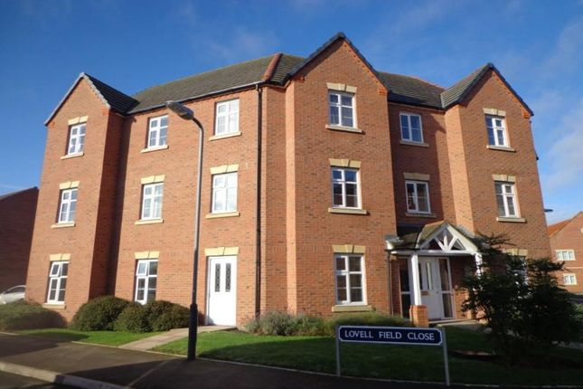 Thumbnail Flat to rent in Lovell Field Close, Chase Meadow Square, Warwick