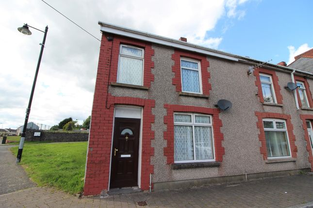 Thumbnail End terrace house to rent in St. Cattwgs Avenue, Gelligaer, Hengoed