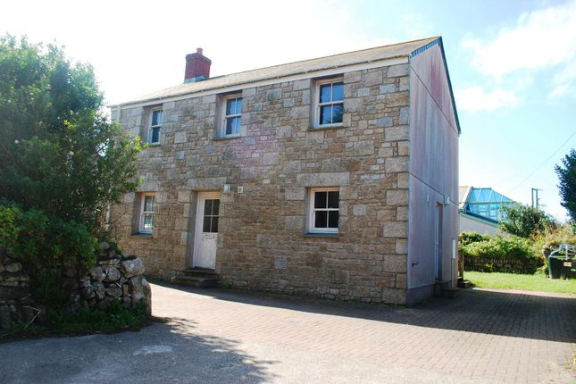 Thumbnail Detached house for sale in St. Johns Terrace, Pendeen, Penzance