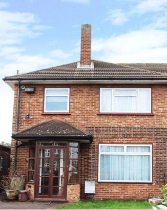Thumbnail Semi-detached house to rent in The Manor Drive, Worcester Park