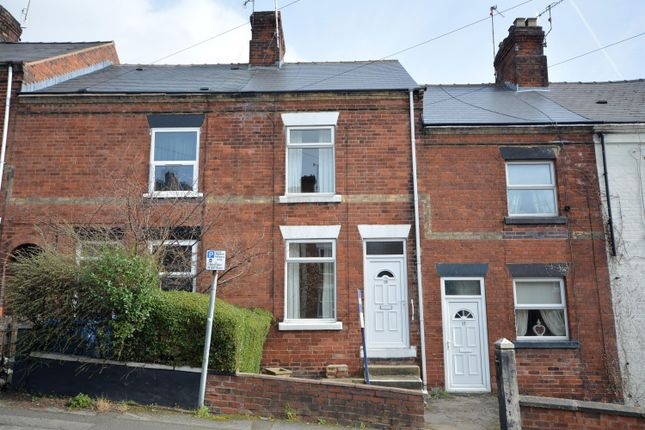 2 bedroom terraced house for sale in Rutland Road, Chesterfield