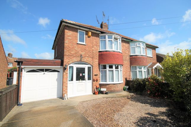 Thumbnail Semi-detached house for sale in Almsford Drive, York