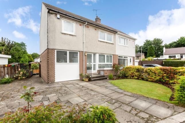 Thumbnail Semi-detached house for sale in Fauldswood Crescent, Paisley, Renfrewshire
