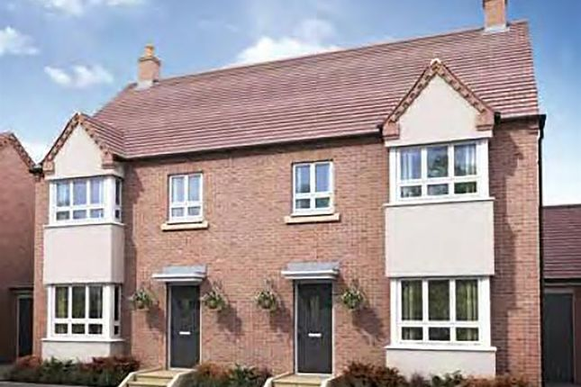"Thumbnail Detached house for sale in ""The Castle"" at Darrall Road, Lawley Village, Telford"