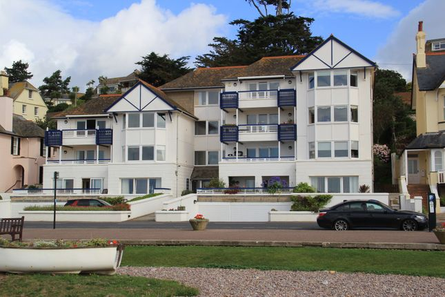 Thumbnail Flat for sale in Marine Court, 9 Marine Parade, Budleigh Salterton, Devon