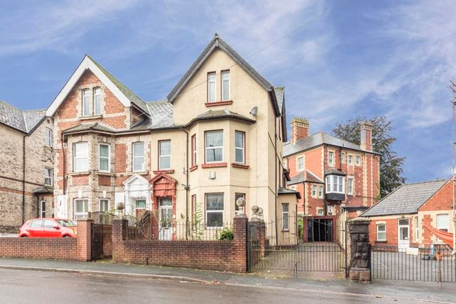 Thumbnail Semi-detached house for sale in Caerau Road, Newport