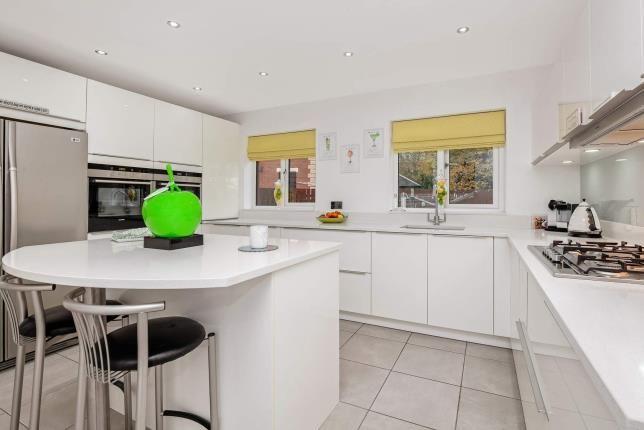 Kitchen of Herbertson Grove, Blantyre, Glasgow, South Lanarkshire G72