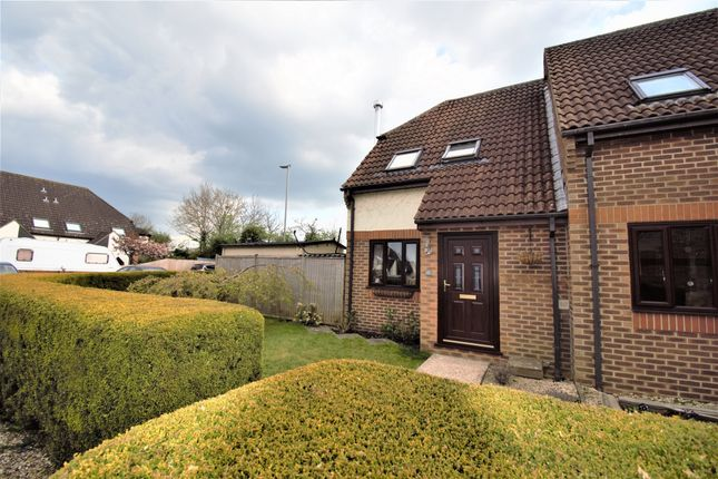 Thumbnail End terrace house for sale in Honeyfields, Gillingham