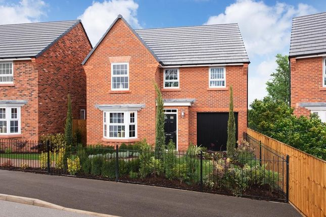 "Thumbnail Detached house for sale in ""Millford"" at Lightfoot Lane, Fulwood, Preston"