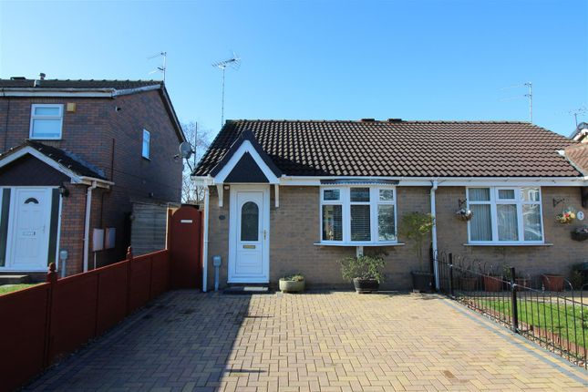 Thumbnail Semi-detached bungalow for sale in Broadley Close, Hull