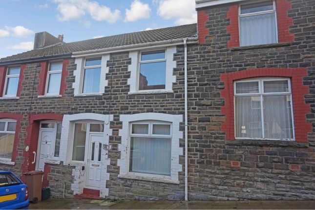 Thumbnail Terraced house for sale in Alfred Street, Bargoed