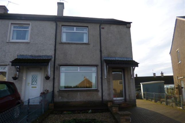 Thumbnail End terrace house to rent in Ochilview Road, Bo'ness, Falkirk