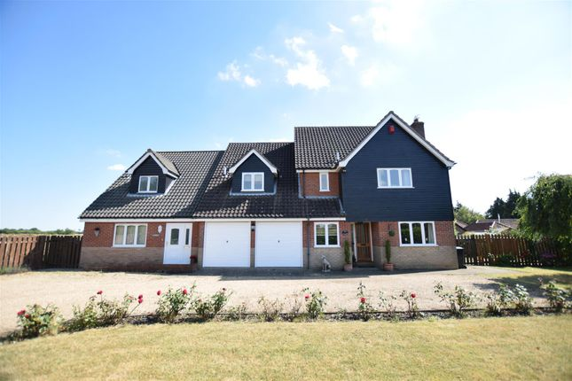 Thumbnail Detached house for sale in Besthorpe, Attleborough