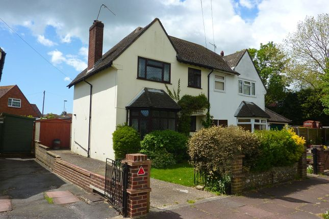 Thumbnail Property to rent in Offington Drive, Broadwater, Worthing