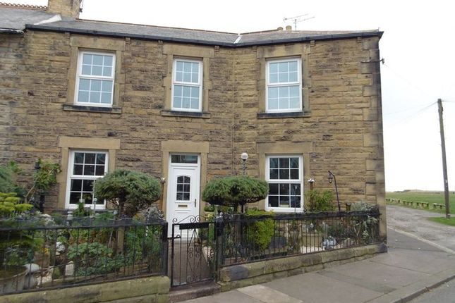 Thumbnail End terrace house for sale in Marine Road, Amble, Morpeth