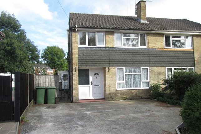 Thumbnail Semi-detached house for sale in Allen Road, Hedge End, Southampton