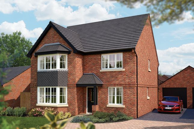 "Thumbnail Detached house for sale in ""The Oxford"" at Burton Road, Streethay, Lichfield"